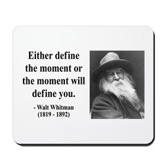 Walter Whitman 2 Mousepad