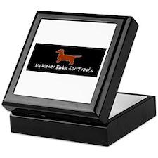 Wiener Barks Keepsake Box