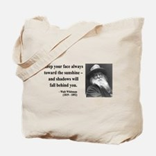 Walter Whitman 3 Tote Bag