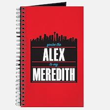 Grey's Alex to my Meredith Journal