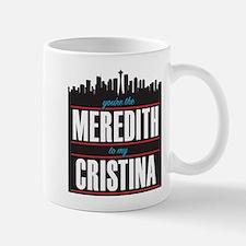 Grey's Meredith to my Cristina Mug