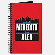 Grey's Meredith to my Alex Journal