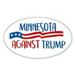 Minnesota Against Trump Sticker