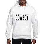 Cowboy (Front) Hooded Sweatshirt