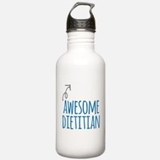 Awesome dietitian Water Bottle
