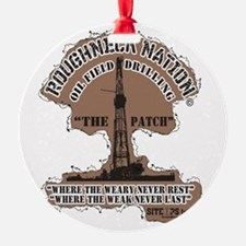 THE PATCH OILFIELD DRILLING Ornament
