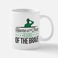 Army Home Free Braves Mug