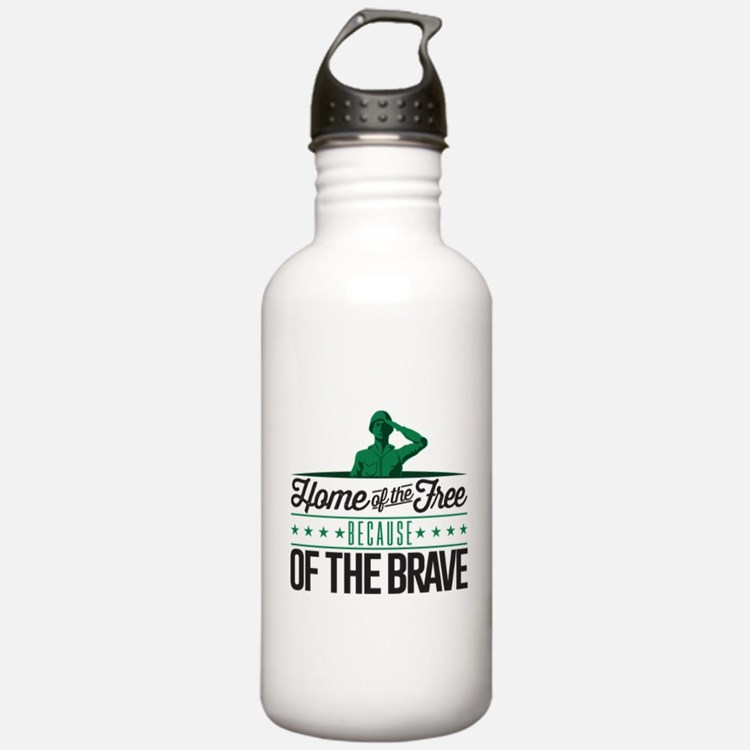Army Home Free Braves Water Bottle