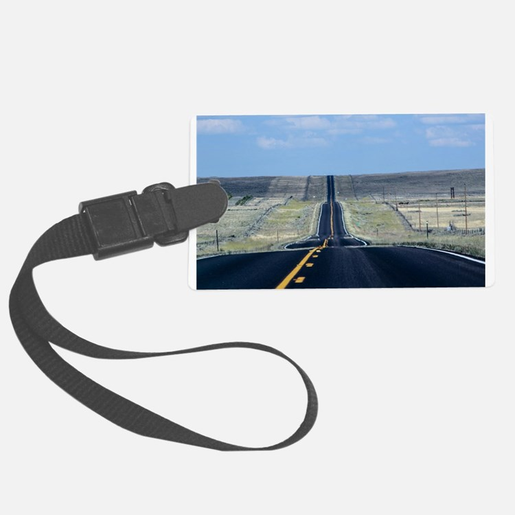 open road Luggage Tag