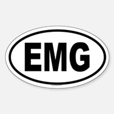 EMG Oval Decal