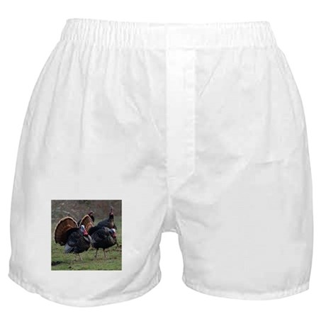 Four Gobblers Boxer Shorts