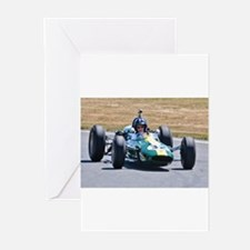 DAMION HILL LOTUS Greeting Cards