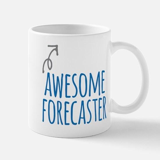Awesome forecaster Mugs