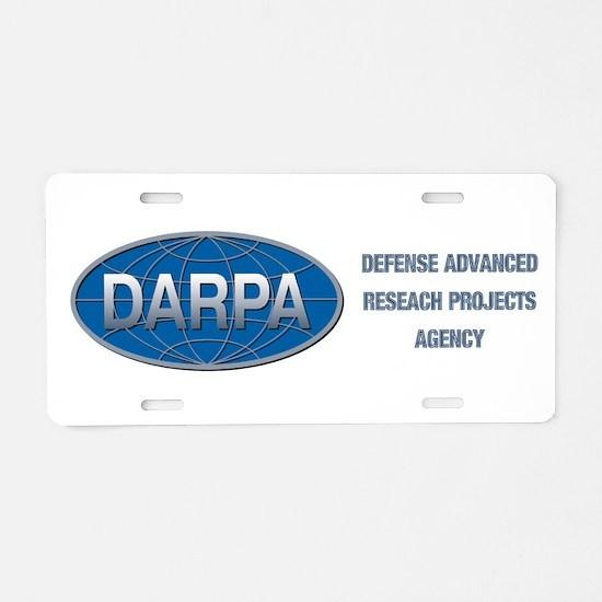 DARPA Logo Aluminum License Plate