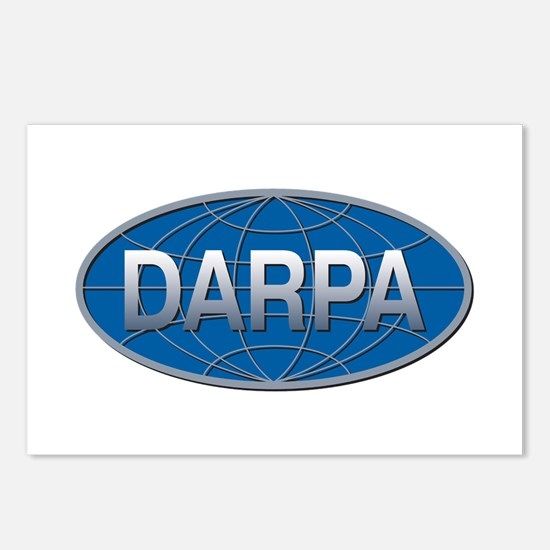 DARPA Logo Postcards (Package of 8)