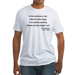 Walter Whitman 4 Shirt