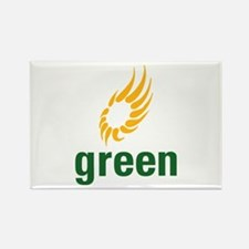 Green Party Support Rectangle Magnet