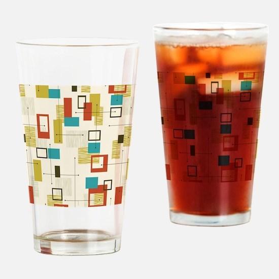 Unique Geometric Drinking Glass