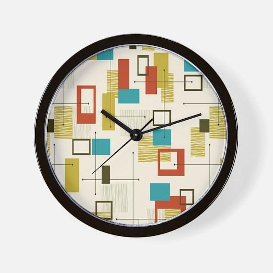 Cute Mid century Wall Clock