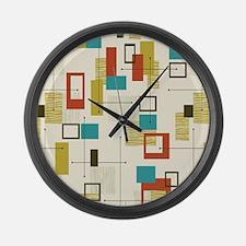 Cute Modern Large Wall Clock