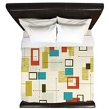 Mid century Luxe King Duvet Cover