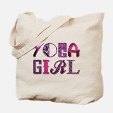 YOGA GIRL Tote Bag