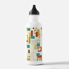 Fun Geometric, Mid Cen Water Bottle