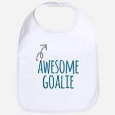 Awesome goalie Baby Bib