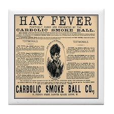 Carbolic Smoke Ball Tile Coaster