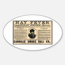 Carbolic Smoke Ball Oval Decal