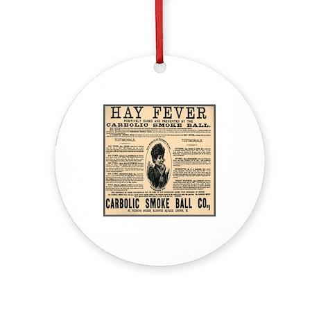 Carbolic Smoke Ball Ornament (Round)