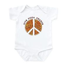 Give Pizza Chance Infant Bodysuit