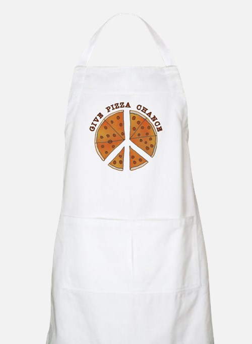 Give Pizza Chance BBQ Apron