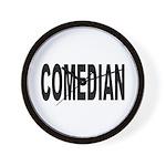 Comedian Wall Clock