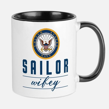 Navy Sailor Wifey Mug Mug