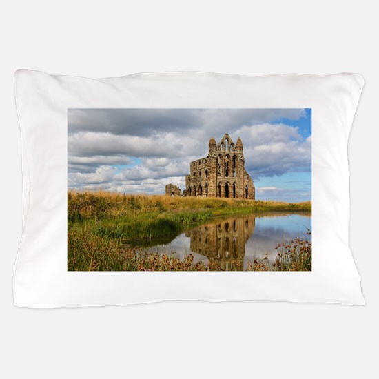 Whitby Abbey Pillow Case