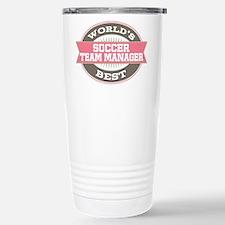 soccer team manager Stainless Steel Travel Mug