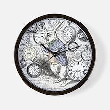 Cute Rabbit time Wall Clock