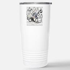 White Rabbit Watches Ti Stainless Steel Travel Mug