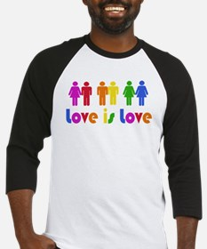 Love is Love Baseball Jersey