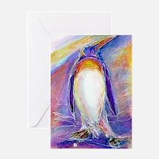 Penguin! Colorful, fun, nature art! Greeting Cards