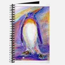 Penguin! Colorful, fun, nature art! Journal