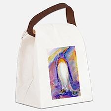 Penguin! Colorful, fun, nature art! Canvas Lunch B