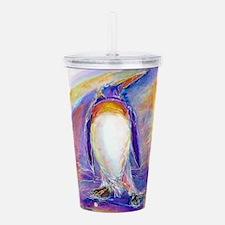 Penguin! Colorful, fun, nature art! Acrylic Double