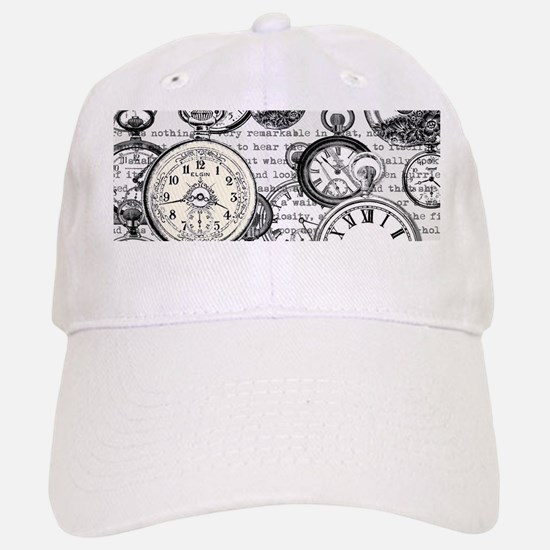 White Rabbit Watches Timepiece Alice Baseball Baseball Cap
