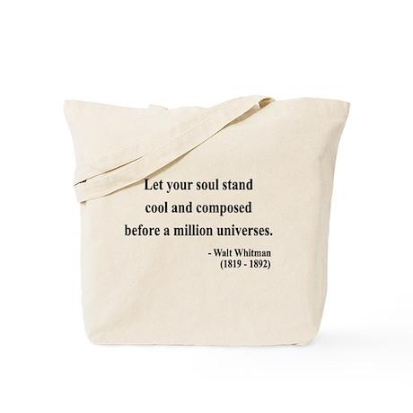 Walter Whitman 5 Tote Bag