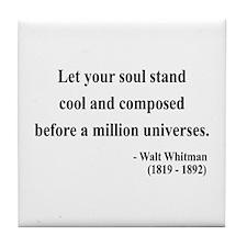 Walter Whitman 5 Tile Coaster