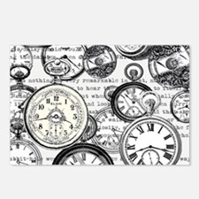 White Rabbit Watches Time Postcards (Package of 8)