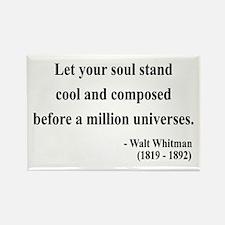Walter Whitman 5 Rectangle Magnet (10 pack)