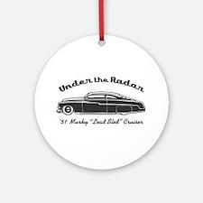 Under the Radar Ornament (Round)
